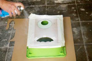 Gestaltung der Tücherboxen